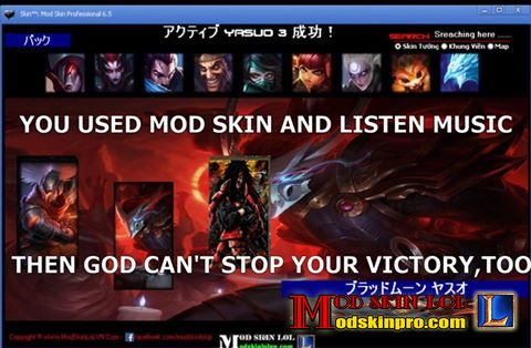 Download Mod Skin LOL Pro 2018 | League Skin