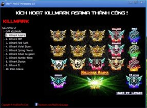 Download Mod Skin KillMark CrossFire 2017